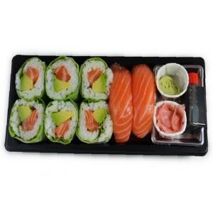 BS4 6Maki printemps et 2Sushi saumon