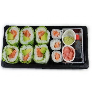 BS5 6 Maki printemps et 3 Maki saumon