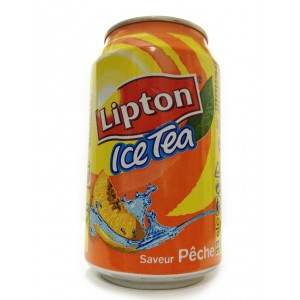 Ice-tea peche