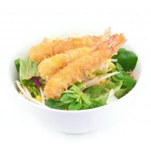 BE3 Salade tempura crevette